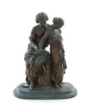 eurydice and orpheus ii by mathurin moreau