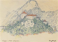 kufstein in tirol by fritz bleyl
