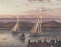 the trial races between