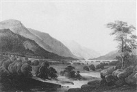 the juniata river valley, pennsylvania by william cornelius reichel