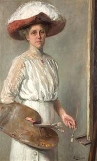 retrato de la señora mira by fernando alvarez de sotomayor y zaragoza