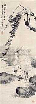 鹭鸶 by li shijun