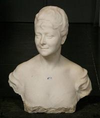 buste d'un dame de qualité by charles samuel