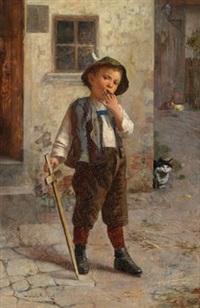 der kleine krieger by edmund adler