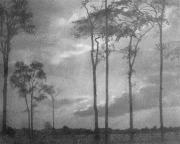 september landscape by wilbur h. porterfield