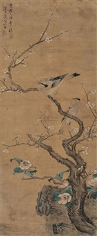 花鸟 (flower and bird) by sun zhi