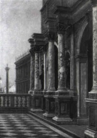die logetta in venedig by george von hoesslin