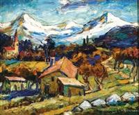 alpesi falu by maurice vagh-weinmann