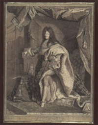 louis xiv by pierre-imbert drevet