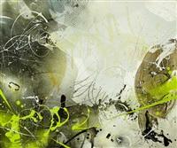 black and green by kayone