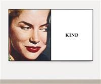 prima facie (second state): kind (in 2 parts) by john baldessari