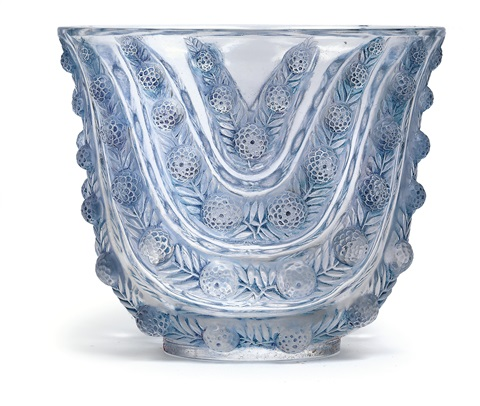 vase vichy by rené lalique