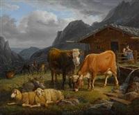 auf der alm by carl hess