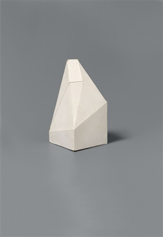 untitled pyramid by sol lewitt