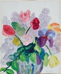 bouquet of flowers by emil nolde