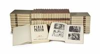 pablo picasso, catalogue raisonné. paris: editions cahiers d'art, 1957-1978 (34 works) (in 2 parts) by christian zervos