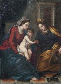 il matrimonio mistico di santa caterina d'alessandria by anastasio fontebuoni