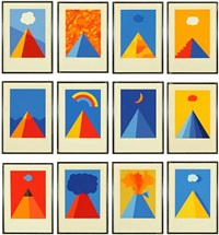 compositions (set of 12) by per arnoldi