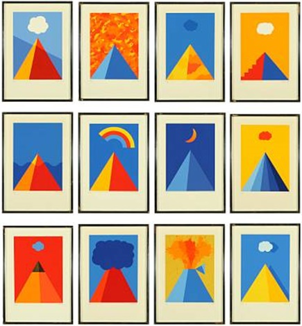 compositions set of 12 by per arnoldi