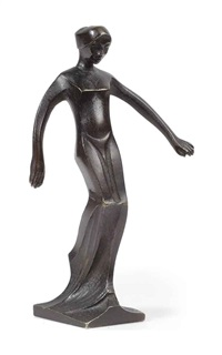 figure of a female nude by chris agterberg