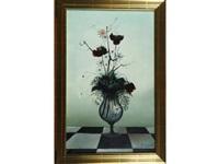 bouquet de fleurs dans un vase by albert deman