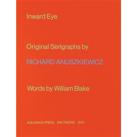 inward eye set of 10 by richard anuszkiewicz