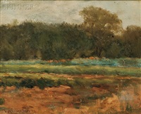 field by william merritt post