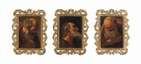 a set of three apostles (3 works) by guido reni