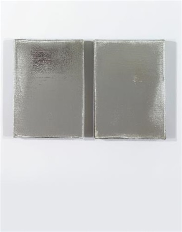 untitled (in 2 parts) by jacob kassay