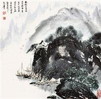 春眠不觉晓 by qi zhengguo