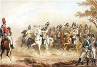 preußische reiterei by t. paul (paul johann georg) fischer