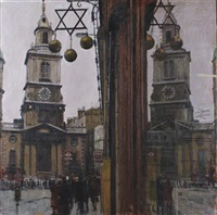 st botolph's in bishopsgate by ken howard