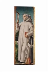 santo brunone by ambrogio da (il bergognone) fossano