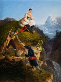 der alpinist by friedrich philip reinhold