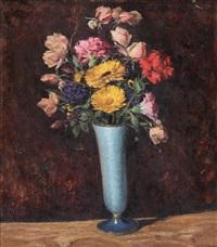 natura morta con fiori by edoardo guazzoni