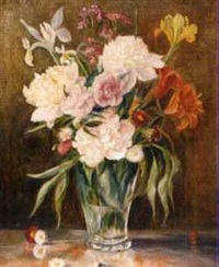 blumen in vase by edith koller