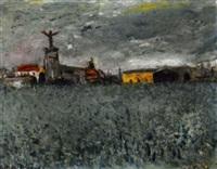 un village by f. ackerman