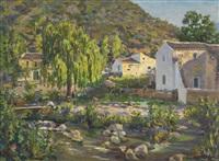 paisaje de benamahoma by juan rodríguez cabas