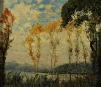 in barca sul lago by alberto grosso