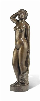 baigneuse debout by aristide maillol