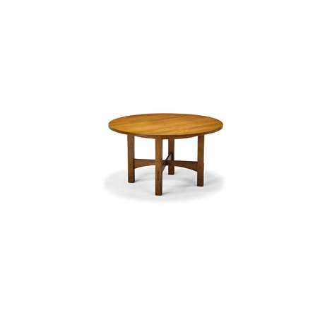 Exceptional Dining/game Table By Gustav Stickley