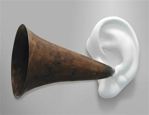 beethovens trumpet with ear opus 133 by john baldessari