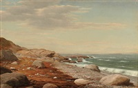 rocky seashore by alfred t. ordway