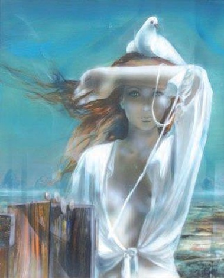 le chemisier blanc by jean baptiste valadie