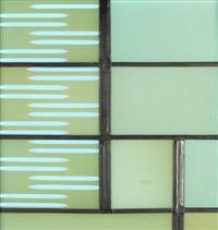 bauhausfenster: fenster für das grassi museum leipzig by josef albers