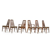 dining chairs (set of 6) by niels koefoed