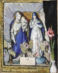 devotional still life: the holy family by anne wilson goldthwaite