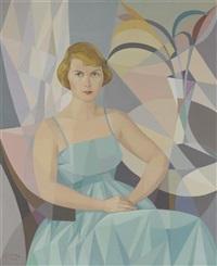portrait de femme by samson flexor