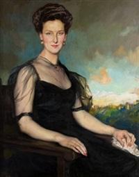 retrato de dama by fernando alvarez de sotomayor y zaragoza