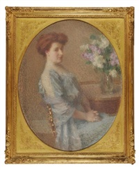 portrait de madame c by ernest joseph laurent